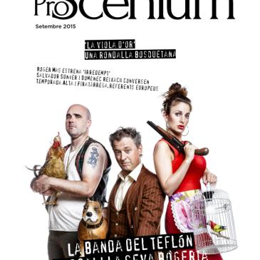 Cascai Teatre i el seu nou espectacle són portada en el número 5 de Proscenium